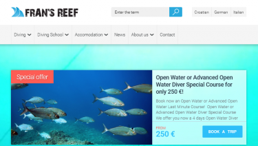 Fransreef.com - diving website