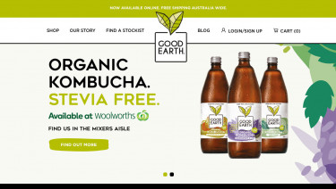 Good Earth Kombucha