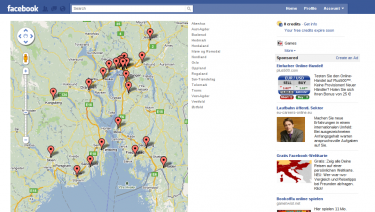 Handelsbanken Facebook office locator