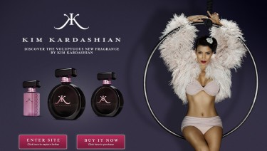 Kim Kardashian Fragrance UK