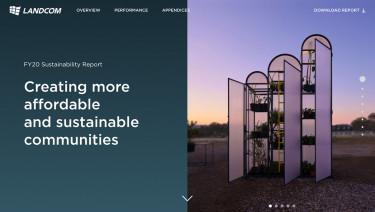 Landcom 2020 Sustainability Report