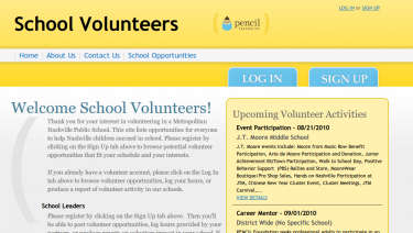 Nashville Public School Volunteers