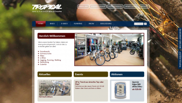 Tropical Bike Shop Solothurn Switzerland