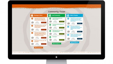 Award winning Wujal Wujal Aboriginal Shire Council website and online community forum