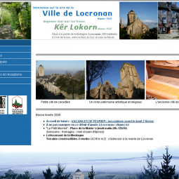 Locronan - official town website 2008-07-05