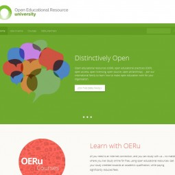 Open Education Resources university 2013-11-01
