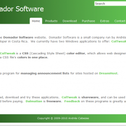 Domador Software 2009-02-23