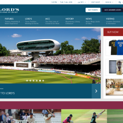 Lord's - The home of cricket (Derrick )