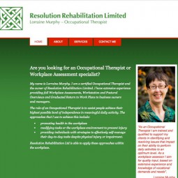 Lorraine Murphy is an experienced Occupational Therapist.  2014-10-14