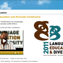 Language, Education and Diversity Conference 2011-07-01