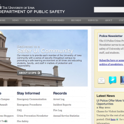 The University of Iowa Public Safety 2010-09-22