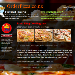 Order Pizza 2010-11-03
