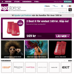 Egostore.se - hair products online 2011-10-15