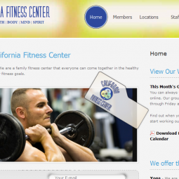 California Fitness Center 2010-07-12