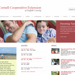 Cornell Cooperative Extension of Suffolk County 2009-09-16