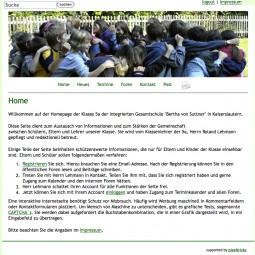 Homepage 5a 2009-02-01