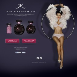 Kim Kardashian Fragrance UK 2011-06-08