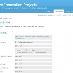 Open Innovation Projects