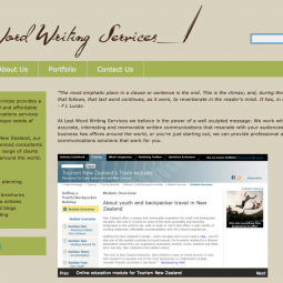 Last Word Writing Services 2011-04-01