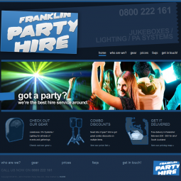 Franklin Party Hire 2012-10-01