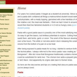 Pasta Sauce Recipes 2010-01-01