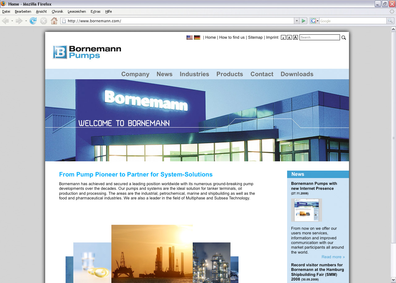 Bornemann - Multiphase pumps for industrial use (Internet Marketing Services GmbH)