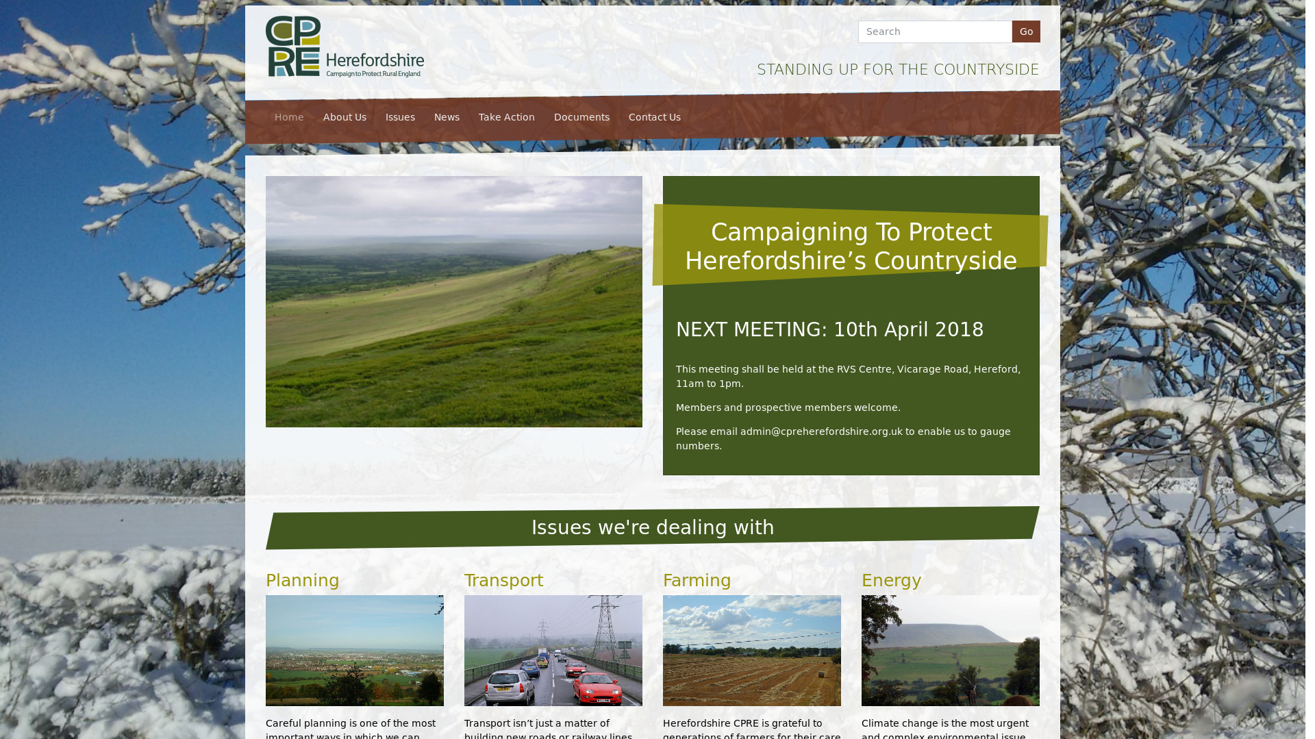 Campaign To Protect Rural England: Herefordshire (Mo)