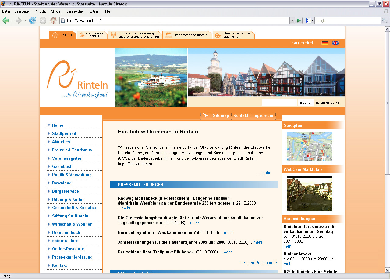 Stadt Rinteln an der Weser (Internet Marketing Services GmbH)