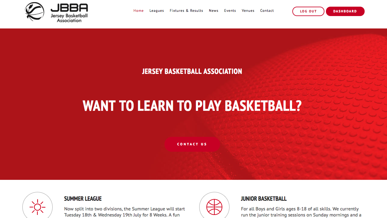 Jersey Basketball Association (Quadra)
