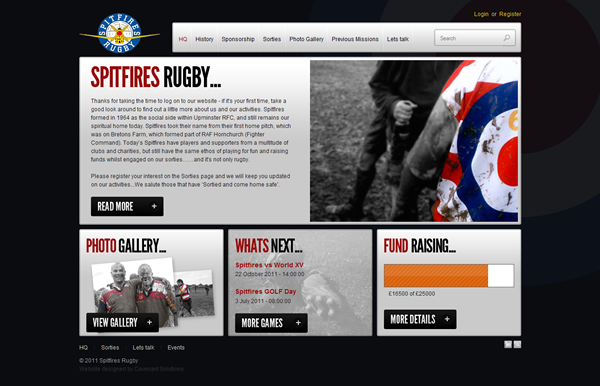 Spitfires Rugby Club ()