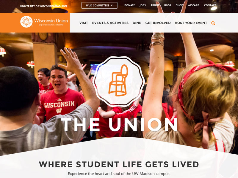 University of Wisconsin: Madison Student Union (jsirish)