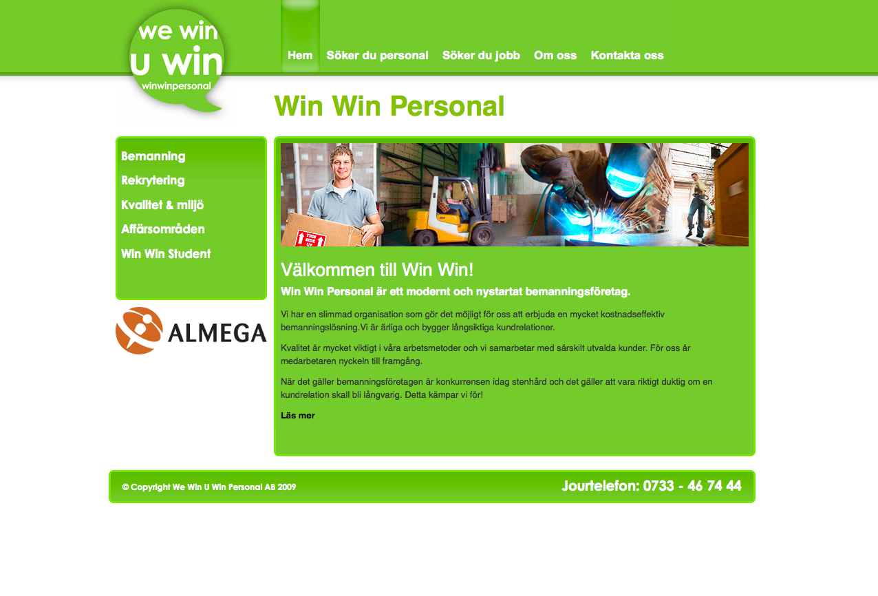Win Win Personal (Patrik at Shiki Media)
