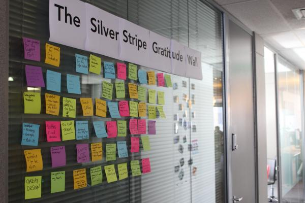 The SilverStripe Gratitude Wall