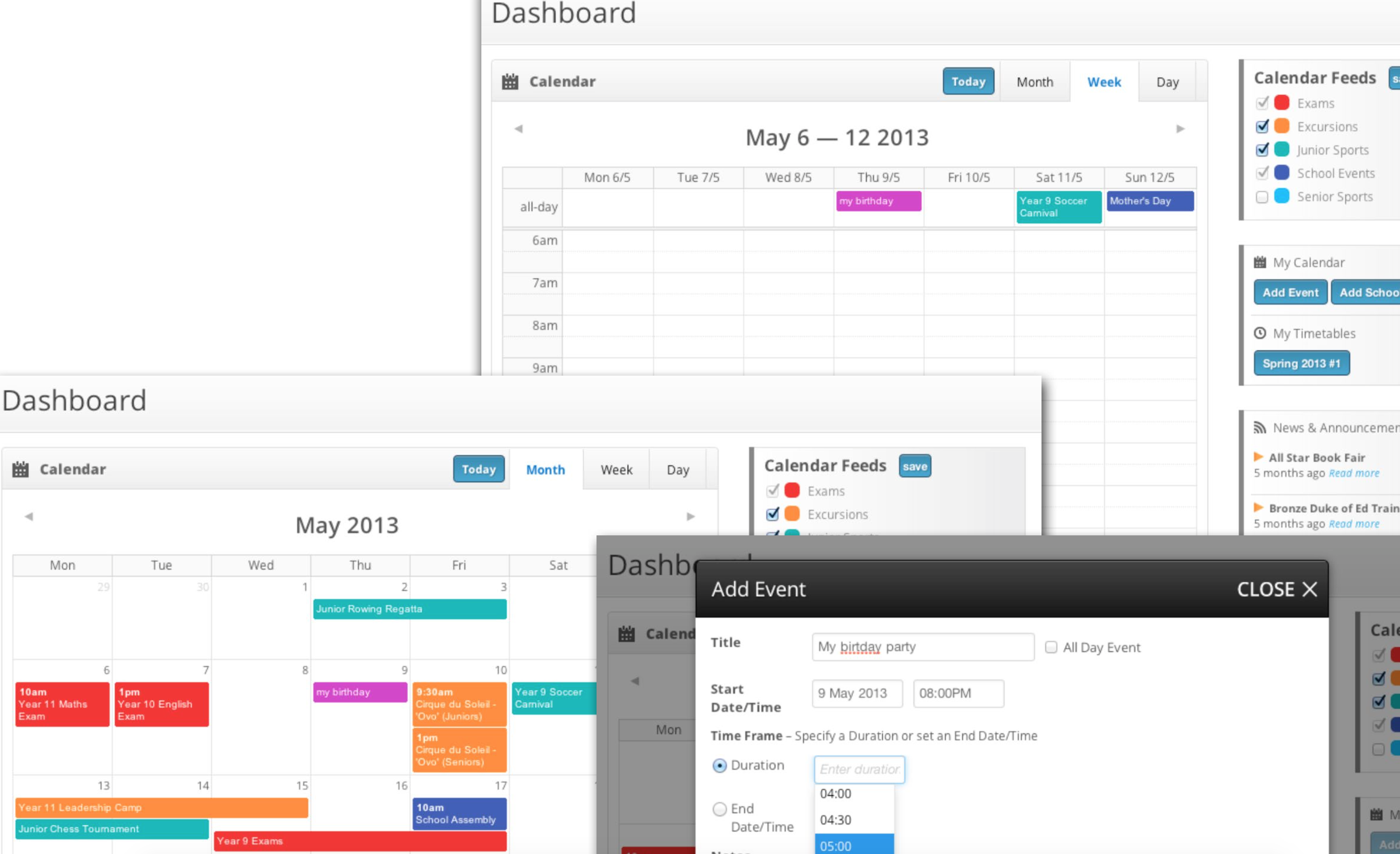Managing events with SilverStripe: A new calendar module
