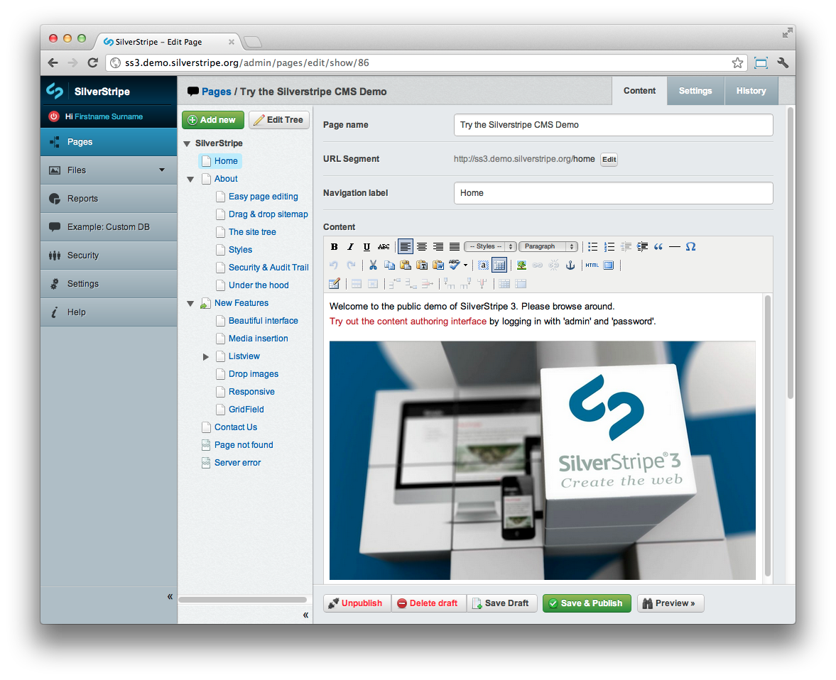 Silver Stripe  The Complete Guide to CMS Development